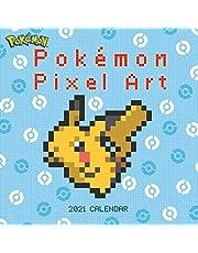 Pokémon Pixel Art Retro 2021 Wall Calendar