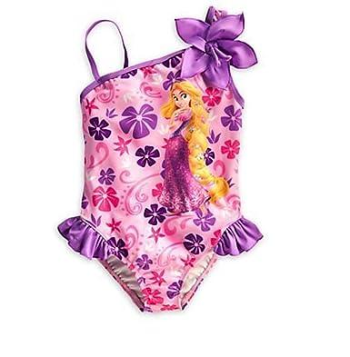 Disney Store Princess Ariel The Little Mermaid Swimsuit: Deluxe 1-Piece Swimwear