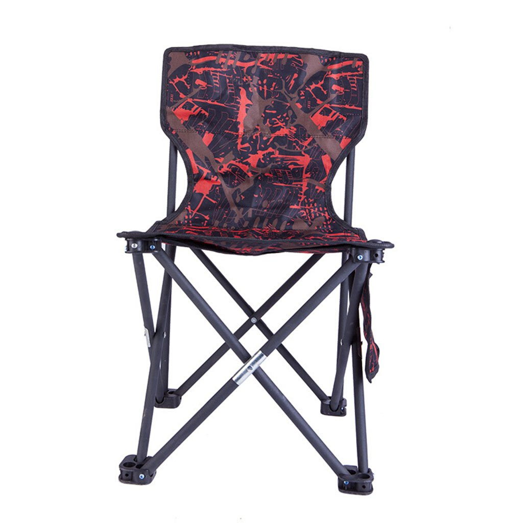 GHM Campingstuhl Outdoor Klappstuhl Strand Camping Lounge Stuhl Wild Portable Angeln Stuhl