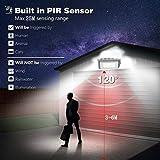 Solar Lights Outdoor, LOZAYI IP65 Waterproof