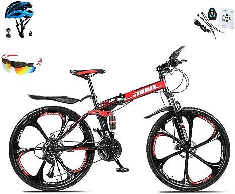 Bicicletas de montaña Plegables para Hombres y Mujeres, Bicicleta ...