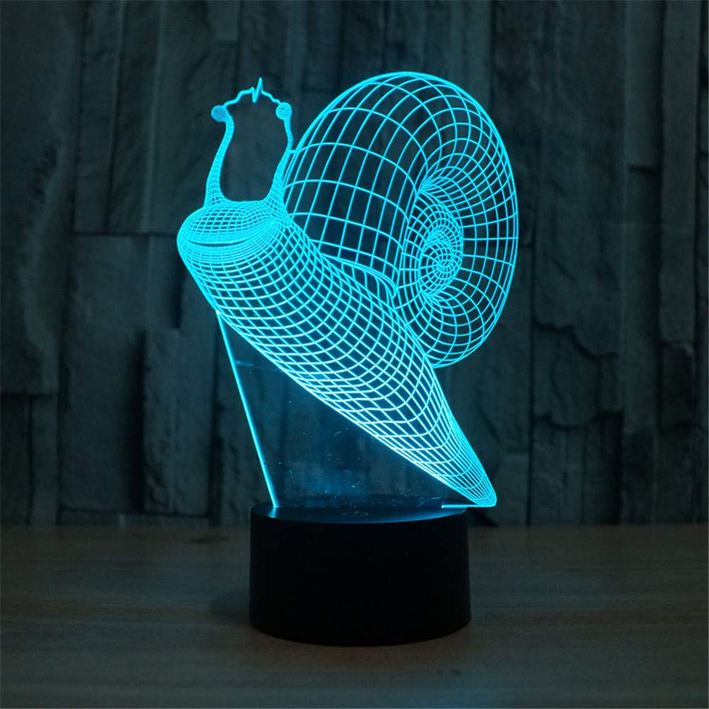 3d Óptico Led Lámpara Mesa Luz De Illusions Nocturna LUSzpVqMG