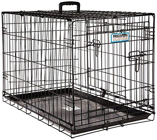 Petmate 'ProValu' Wire Dog Crate, Two Doors, Precision Lock System, 6 Sizes