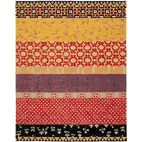 10' Rodeo Drive Collection (Safavieh Rodeo Drive Collection RD622K Handmade Rust and Gold Wool Area Rug (8' x 10'))