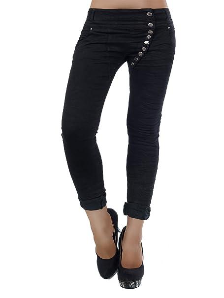 Mujer Pantalones vaqueros pantalones tubular (cadera ...