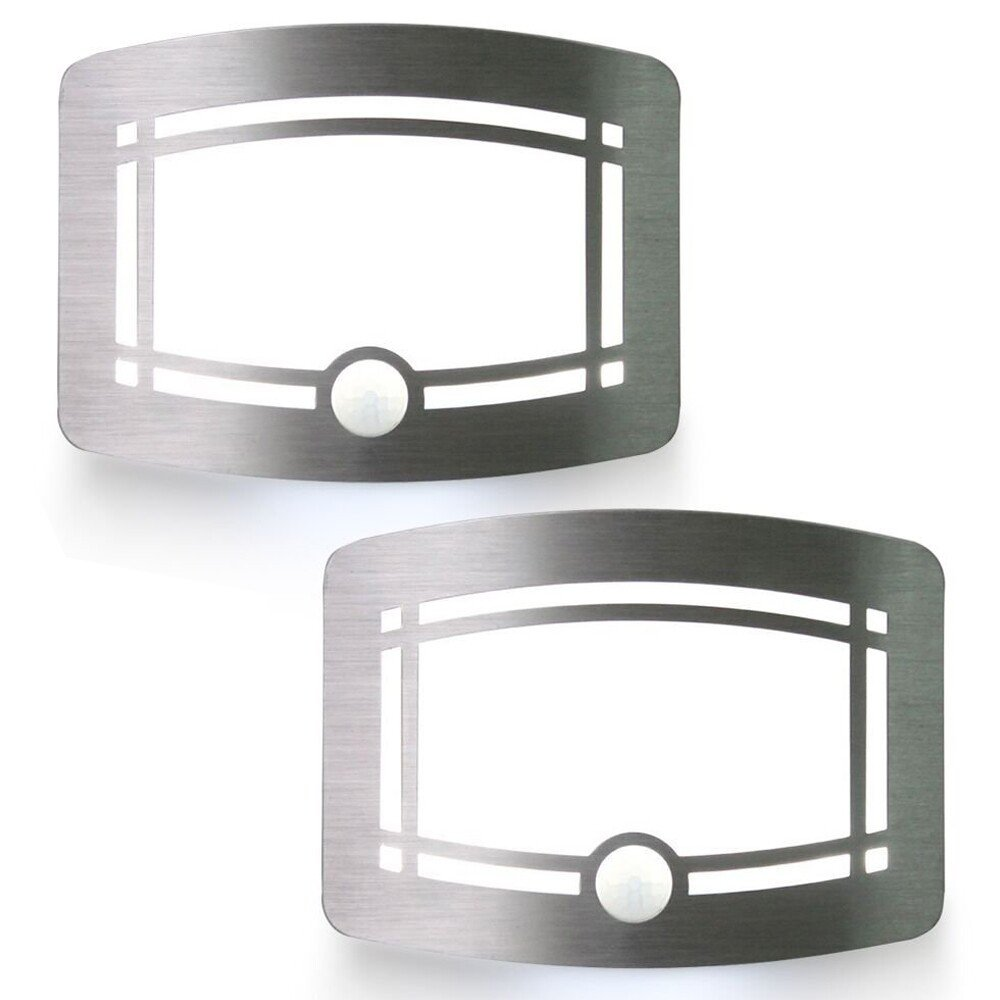 Hallomall Luxury Aluminum Case Wireless Stick Anywhere Battery Powered Motion Sensor Lights/Wall Sconce/Spot Lights/Hallway Night Light