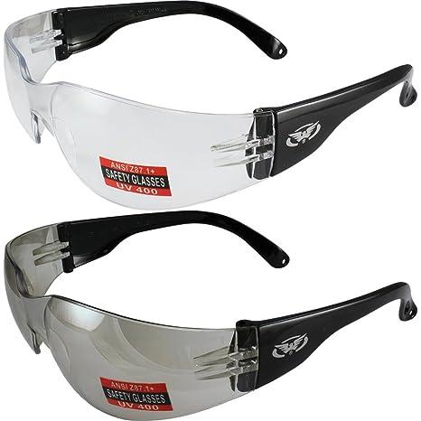 Amazon.com: Dos pares de gafas de sol de seguridad para ...