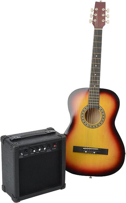Weinberger Guitarra acústica Incluye amplificador Guitarra clásica ...