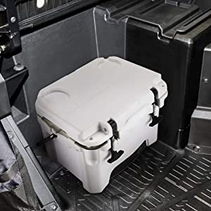 Kemimoto 11 Qt Under Passenger Seat Cooler Storage Ice Box compatible with 2018 2019 Polaris RZR Ranger XP 1000, Keep Drink and Food Fresh
