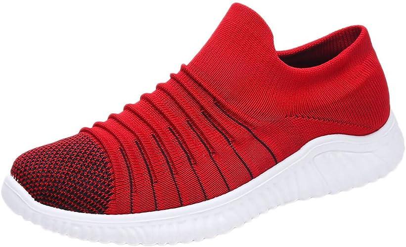 Sayla Zapatos Zapatillas para Hombres Casual Moda Verano Running Deporte Running Sneakers Zapatos para Correr Gimnasio Deportivas Transpirables Casual Al Aire Libre