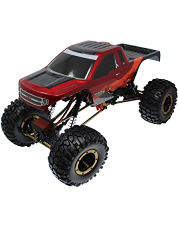 Everest-10 1/10 Scale Rock Crawler (Red/Black)