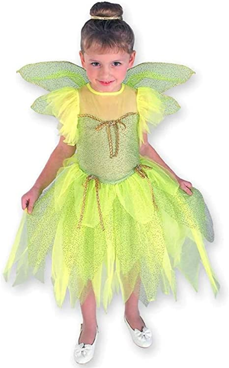 Campanilla TINKERBELL FAIRY TODDLER COSTUME 1/2 YEARS (disfraz ...