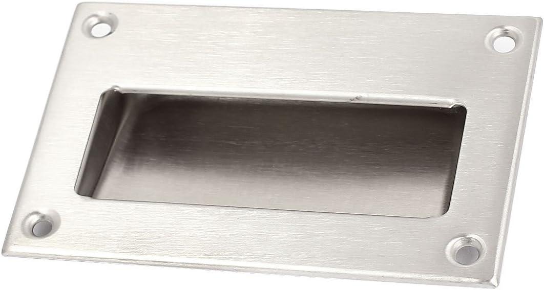 a15081300ux0346 - Tirador de puerta corredera empotrada de acero inoxidable: Amazon.es: Bricolaje y herramientas