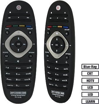 Grock mando a distancia universal VPH-12 para casi todos los Marca de Philips TV/Blue-Ray/LCD/LED/HDTV/Aprender, 32pfl4609 32PFL4909 40pfl4609 40pfl4909 43pfl4609 43pfl4909: Amazon.es: Electrónica