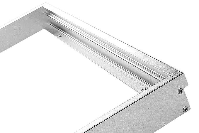 Gut gemocht LUMIXON LED Panel Rahmen 120x30cm Aufbaurahmen Aufputz-Rahmen EW83