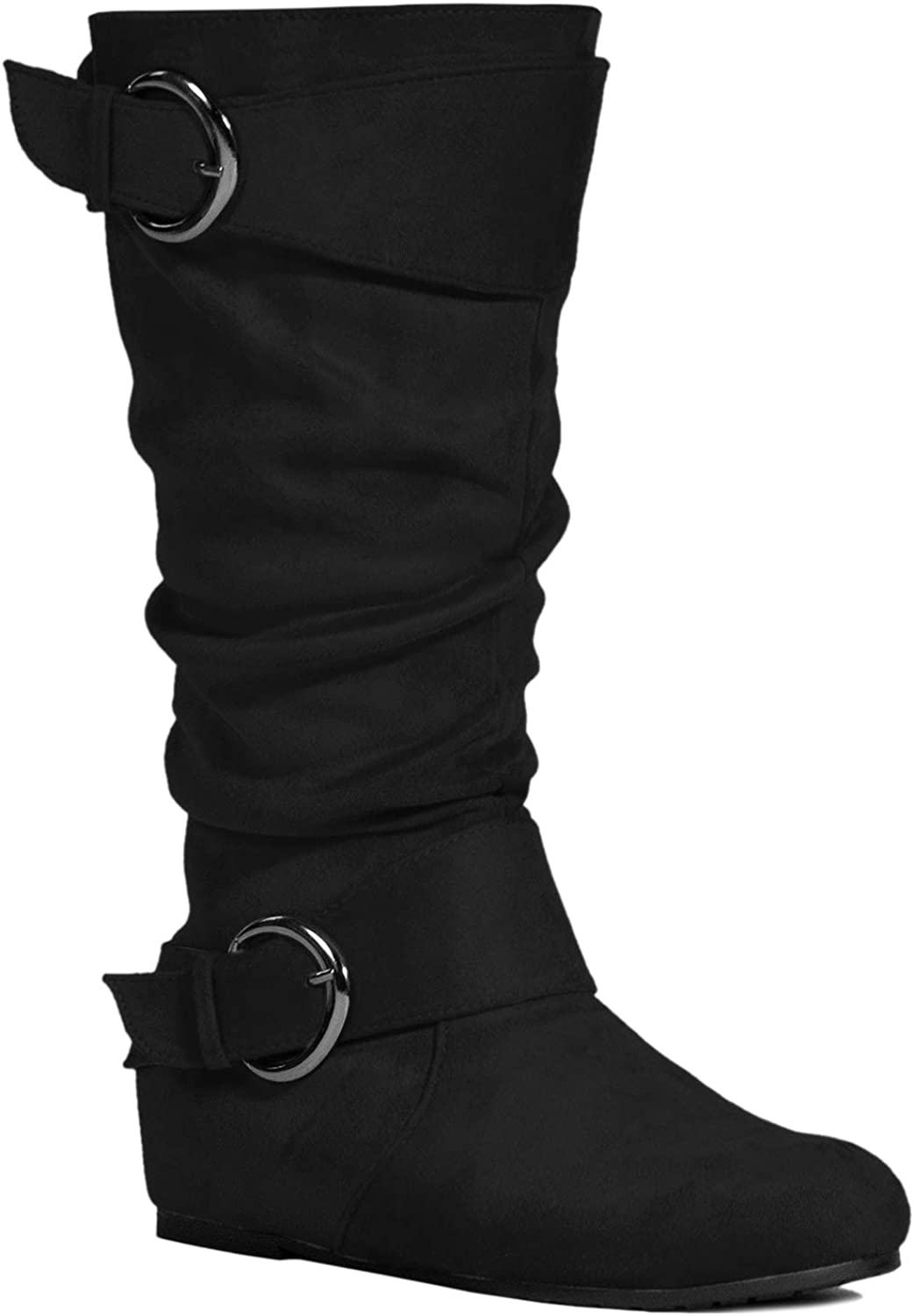 Unm Womens Over The Knee Stiletto High Heel Boots