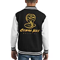 Cloud City 7 Cobra Kai Material Karate Kid Varsity Chaqueta para niños