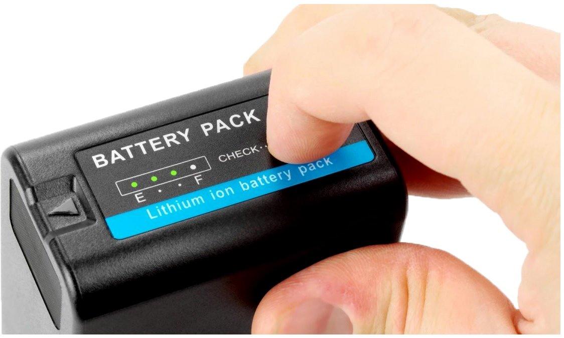 2 Pack High Capacity Lithium Replacement BP-U90 BPU90 for Sony Camera PMW-X180, PMW-X160, PXW-FS7, PMW-100, PMW-150, PMW-160, PMW-200, PMW-EX1, PMW-EX3, PMW-EX160 & More