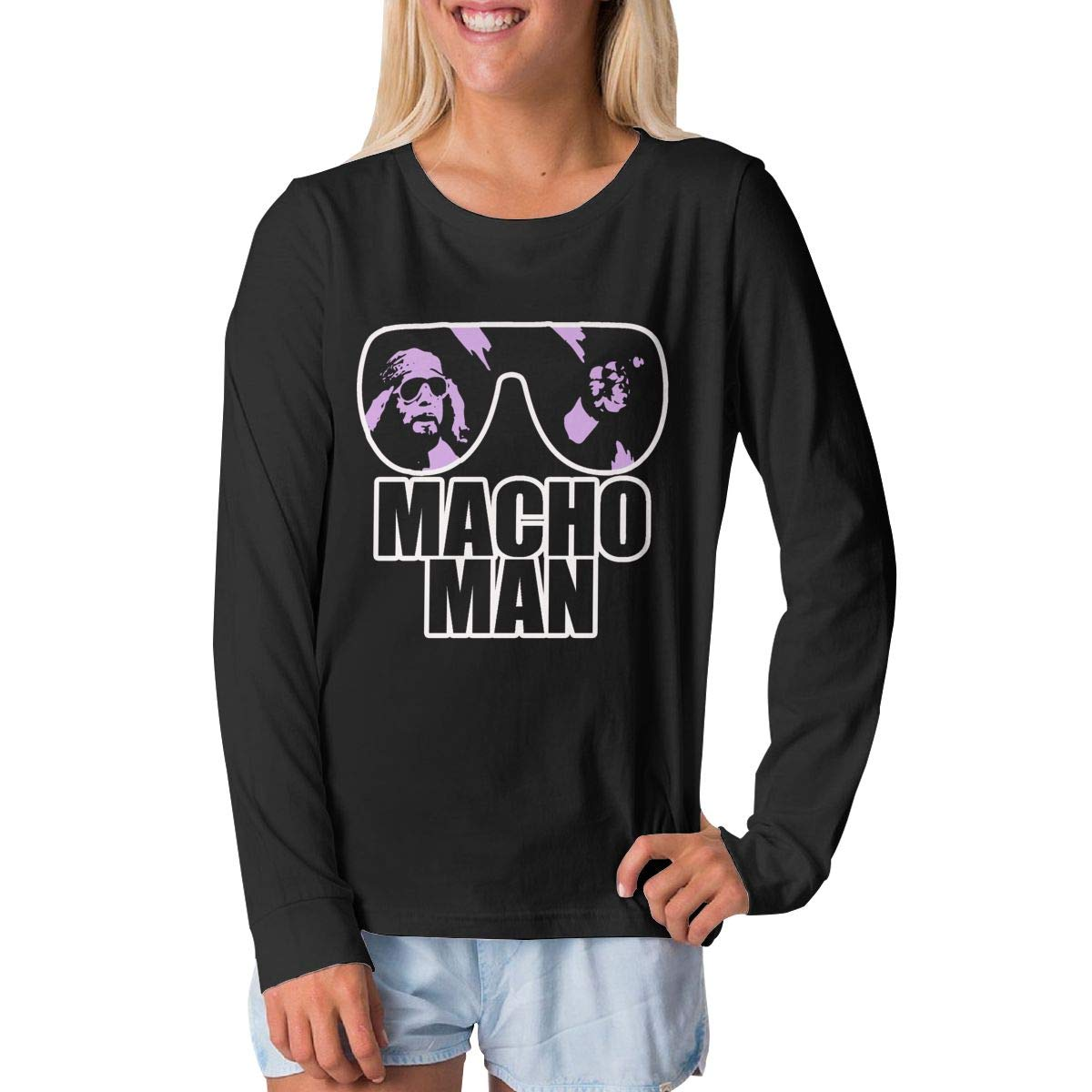 BilliePhillips Youngster Macho Man Fashion Long Sleeve Tshirts