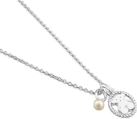 Collar TOUS Camee de plata de primera ley con perlas de 0,4 cm