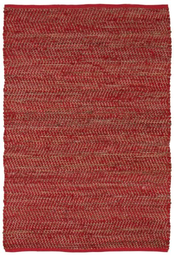 Earth First Jeans Rug, 4-Feet by 6-Feet, Red Review
