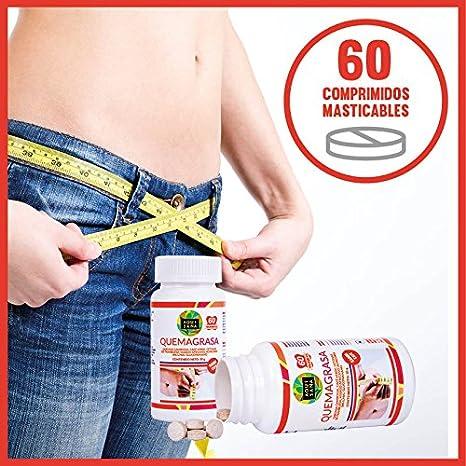 Garcinia Cambogia para contribuir a adelgazar y como supresor de apetito - Complemento alimenticio para acompañar una dieta saludable - 60 comprimidos ...