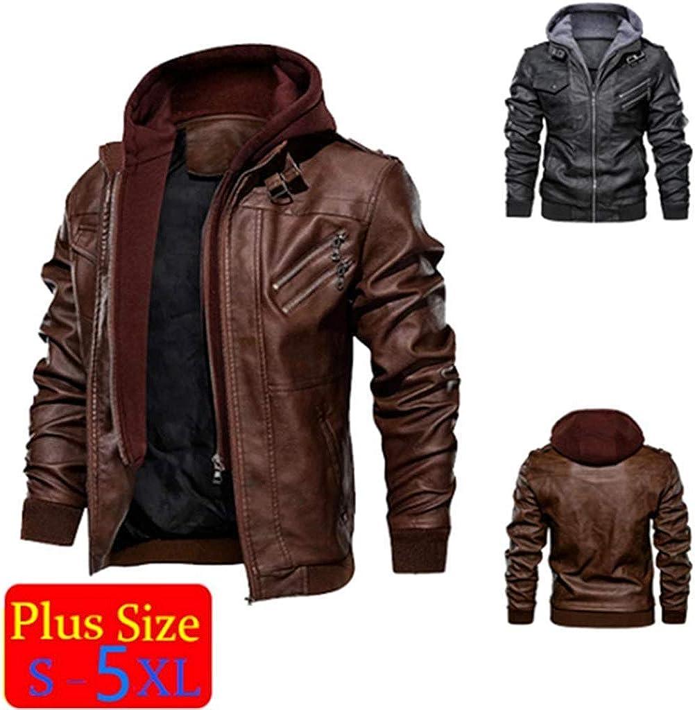 Denzell Outwear Anarchist Chamarras De Hombre Plus Size Leather Jacket At Amazon Men S Clothing Store [ 1024 x 1009 Pixel ]