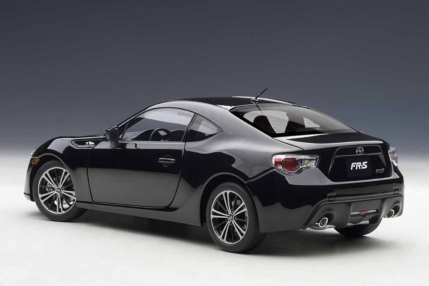 Amazon.com: Scion FR S (North American Style / Left Handle) (Crystal Black  Silica) (Diecast Model) By AUTOart: Automotive