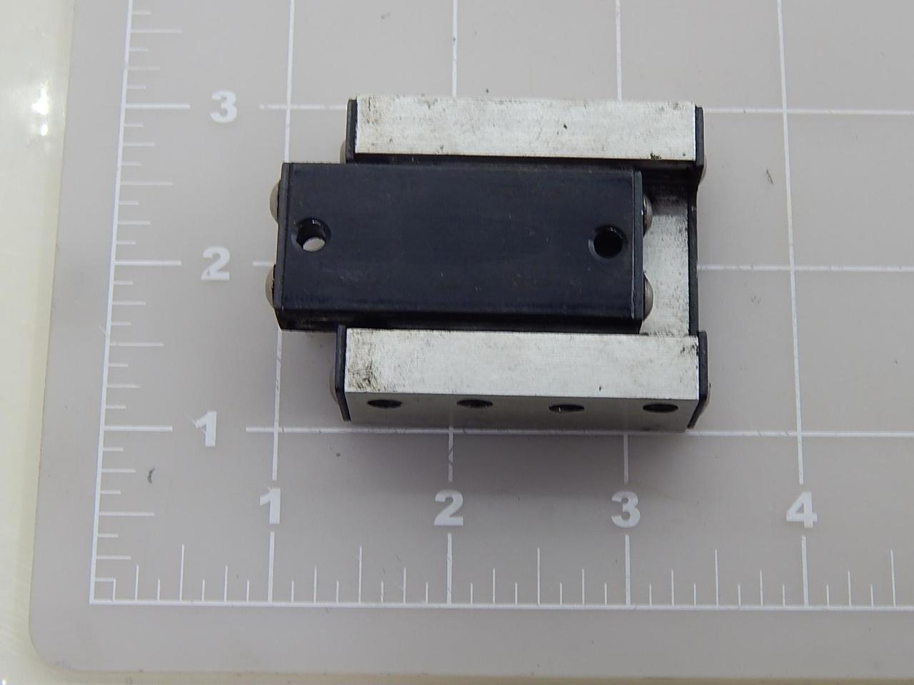 26.9 mm x 40 mm 19 mm Travel Crossed Roller Slide Assemblies Inc Del-Tron Precision Metric