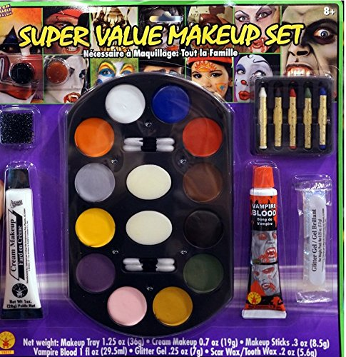 [Super Value Family Makeup Kit] (Costume Party Run Times)