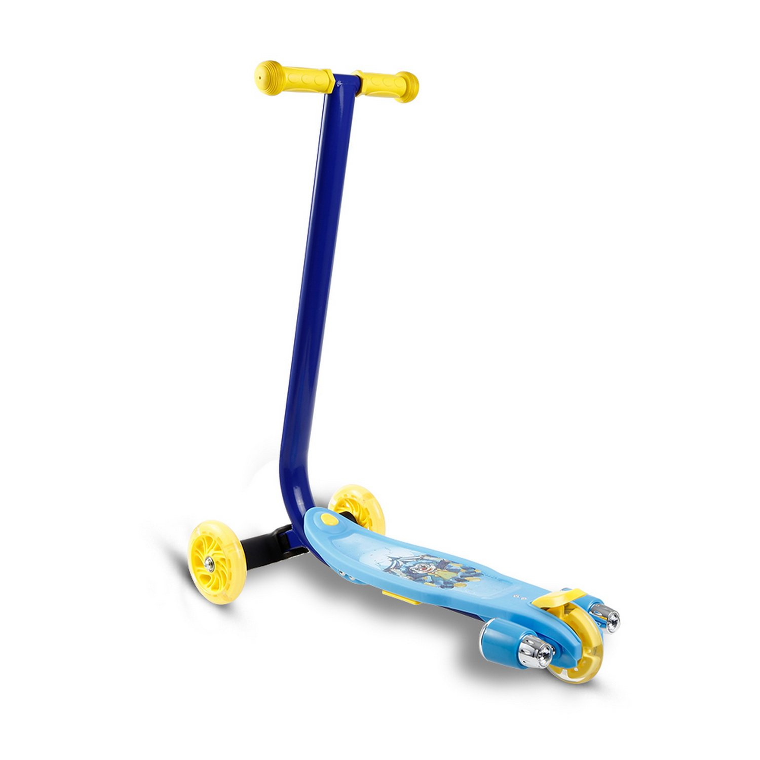 Amazon.com : Rateim 3-Wheel Mini Kick Scooter with LED Flashing Wheels and Music for Kids Boys Girls Toddlers Children Age 3-8 Year Old (Blue) : Sports & ...