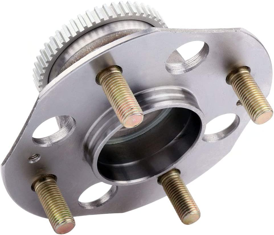cciyu 512020 Wheel Hub and Bearing Assembly Replacement for fit Honda Accord Rear Wheel Hubs with ABS 4 Lugs 1