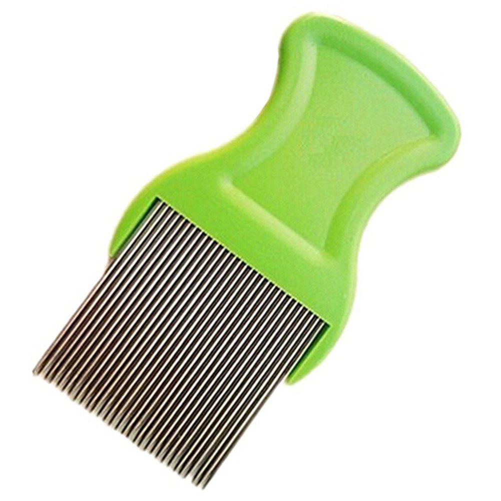 Stainless Steel Pet Cat Puppy Dog Lice Flea Removal Comb Fine Teeth Pet Louse Pet Hair Grooming Deshedding Brush by Baost (Image #6)