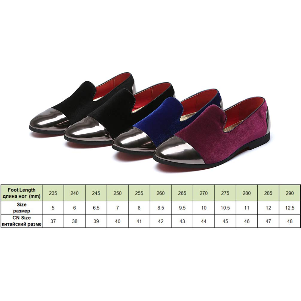 Mens Formal Shoes Pointed Toe Slip-On Fashion Casual Flats Dress Shoes Big Size by Phil Betty (Image #2)