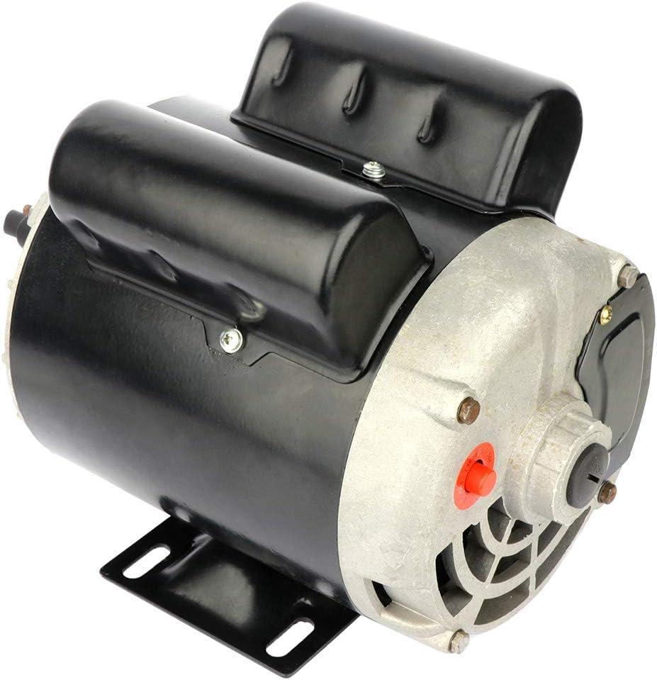 GYZJ 2 SPL HP Air Compressor Electric Motor 60 HZ 3450 RPM,Single Phase,56 Frame,115V/230V,15.0A / 7.5A,5/8 Shaft Diameter Rolled Steel Shell Electric Compressor Motor
