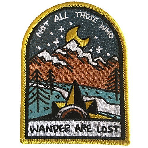 O'Houlihans - Not All Those Who Wander are Lost - Lord of The Rings Patch
