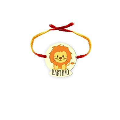 YaYa Cafe™ Rakhi for Brother Printed Rakhi with Roli-Tika Raksha Bandhan