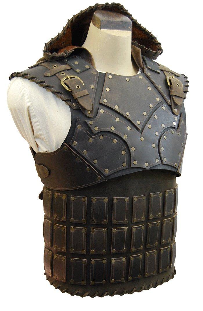 Marauder Armor (Medium, Brown) - LARP Armor