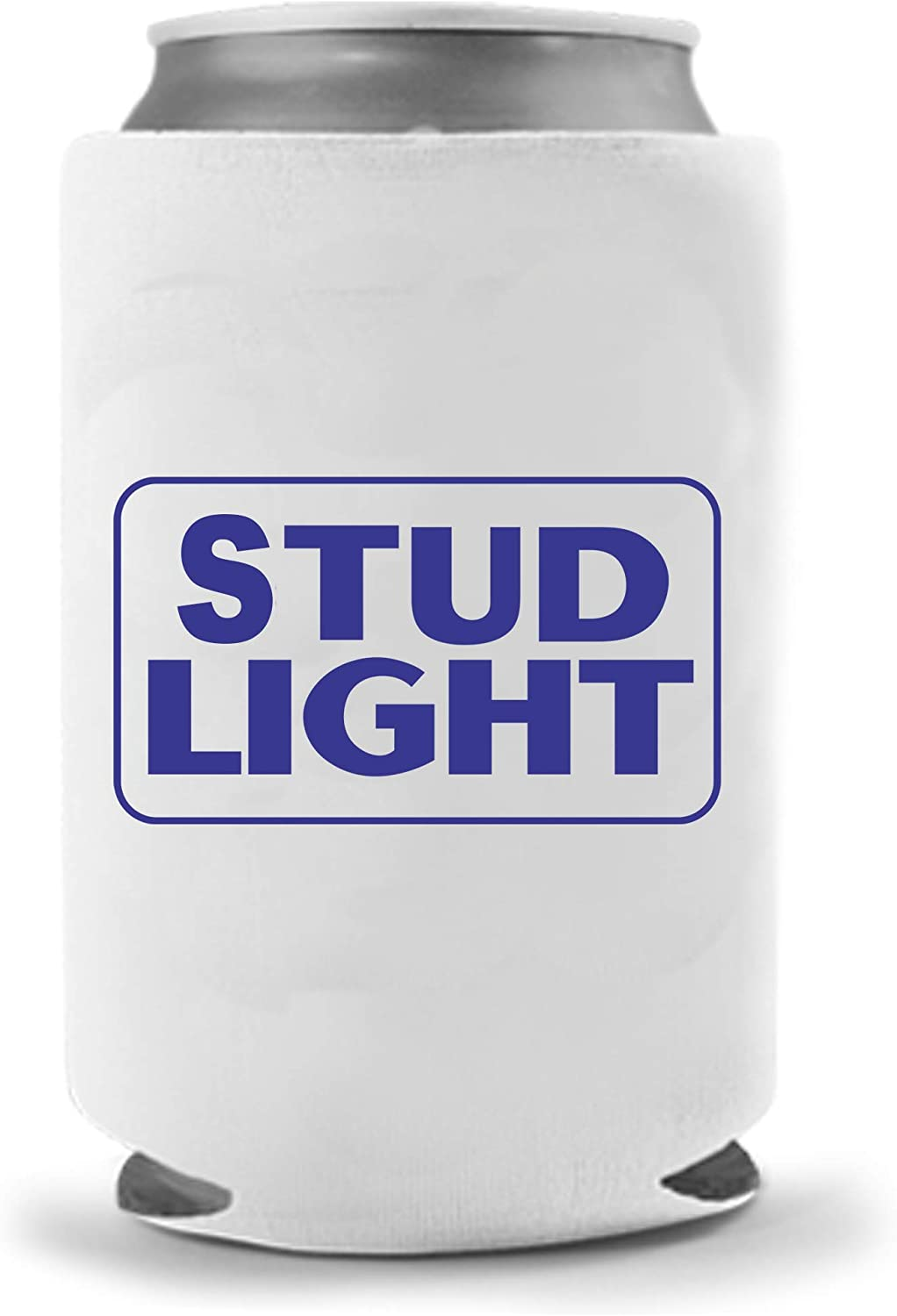 Cool Coast Products | Stud Light Funny Beer Joke Coolies | Fun America Beer Can Holders | Neoprene Insulated Soft Can Cooler | Beverage Cans Bottles | Cold Beer Tailgating Beer Gifts (Stud Light)