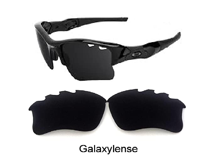 7b752ece3a Galaxy Replacement Lens For Oakley Flak Jacket xlj VENTED Sunglasses Black  Polarized