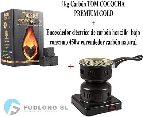 PAIDE P DIGITAL Cocina el/éctrica con reijlla para cachimba Shisha Hookah Camping para cocinar carb/ón