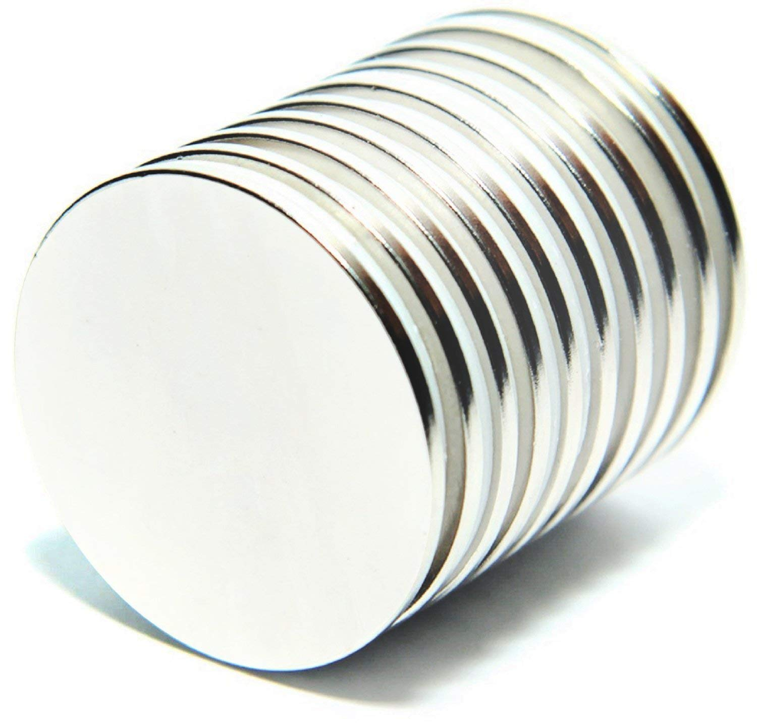 Neodymium Magnets Therapy and Crafts Bulk Pack of 10 Cool for Fridge Thin Round Flat Disc The Strongest /& Most Powerful Rare Earth Magnet
