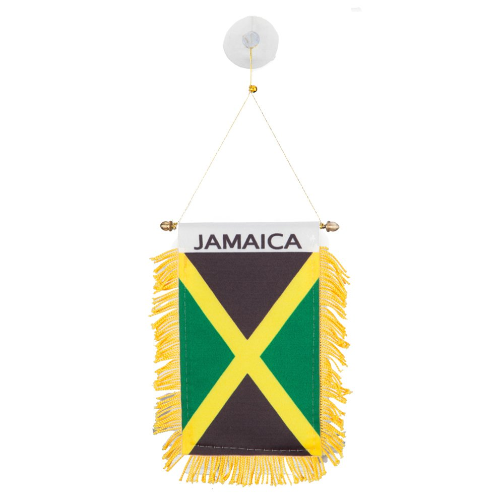 World Mini Banner-Jamaica