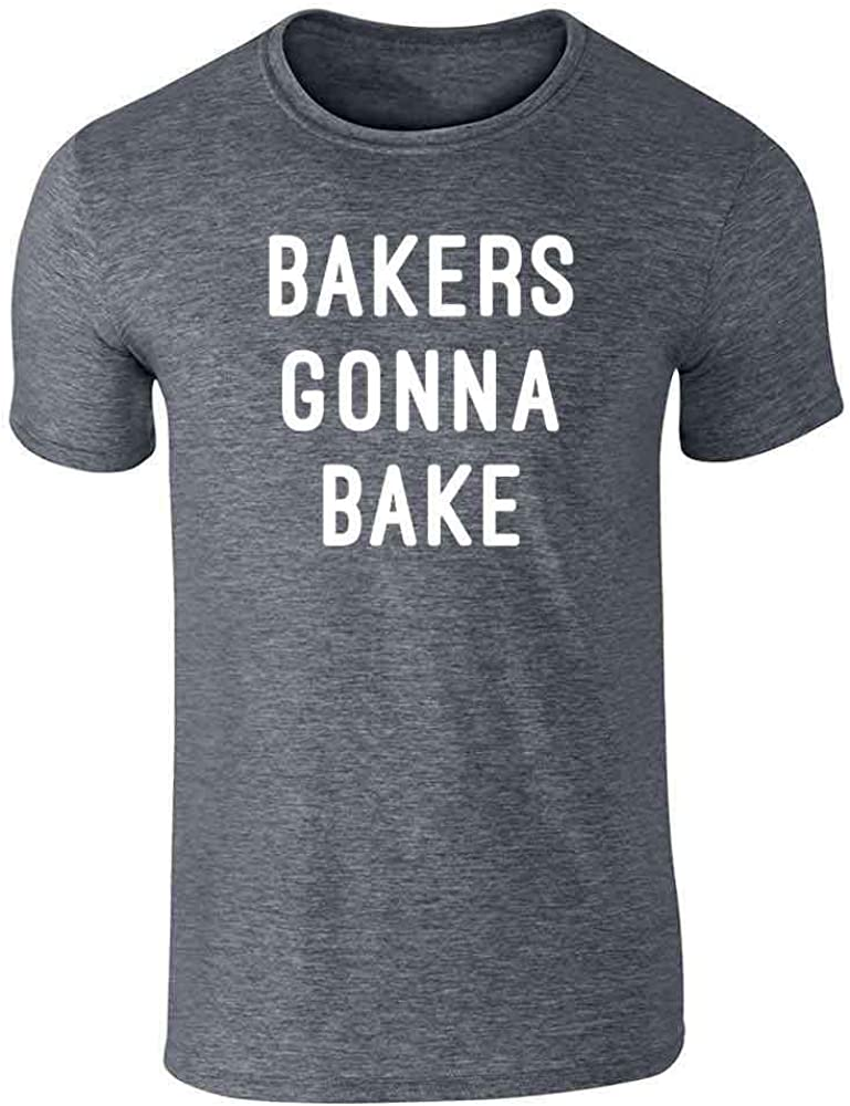 Bakers Gonna Bake Cute Chef Graphic Tee T-Shirt for Men