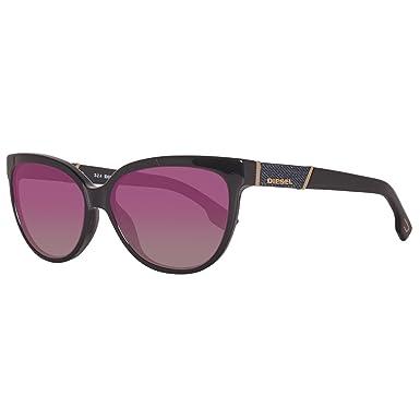 Diesel - Gafas de sol Ojos de gato Dl0102 para mujer, 01F ...