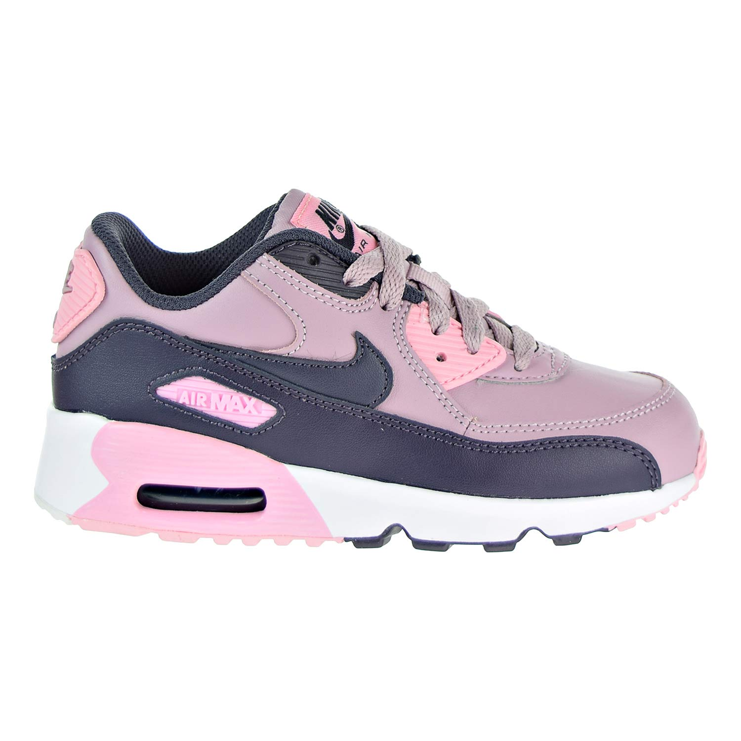 NIKE Air Max 90 LTR (PS), Chaussures de Running (Elemental Compétition Fille 31.5 EU|Multicolore (Elemental Running Rose/Gridiron/Pink/White 602) 8b3cca