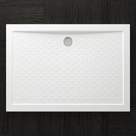 AL01 Duschwanne Duschtasse Lucia//Faro in wei/ß inkl Form: Rechteckig TBH: 90x100x4cm