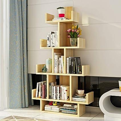 Versatile furniture Multiplo Hmdx Tree Bookshelf10 Compartments Wood Bookcase Furniture Versatile Display Rack Storage Organizer Shelf For Amazoncom Amazoncom Hmdx Tree Bookshelf10 Compartments Wood Bookcase