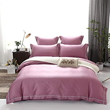 Amazon.com: WUGEE Cotton Sheets, Soft, Sweat-Absorbent, Non ...