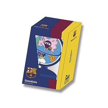 FC Barcelona Barcelona Hucha metal bola del mundo con peana CYP HM-24-BC: Amazon.es: Juguetes y juegos